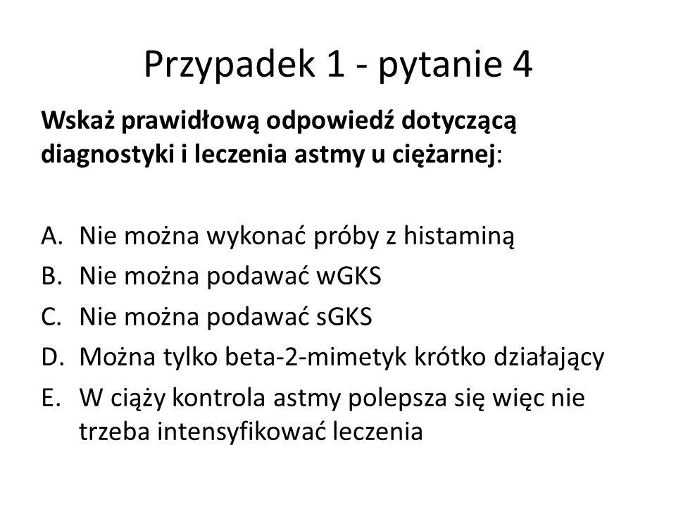 Przypadek 3 – pytanie 3 W przebiegu zakażenia Legionella pneumophila często występuje: A.Suchy kaszel, splątanie i biegunka B.Limfopenia bez leukocytozy C.Hiponatremia D.Objawy grypopodobne E.Wszystkie powyższe