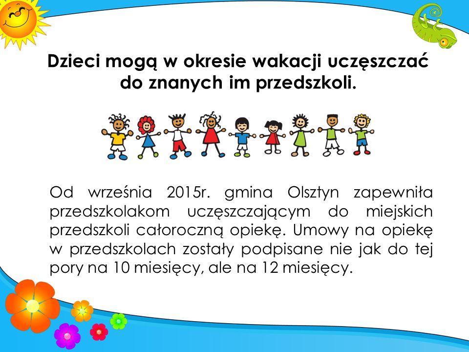 Materiał promocyjny Urzędu Miasta Olsztyna Rodzina i Przedszkole