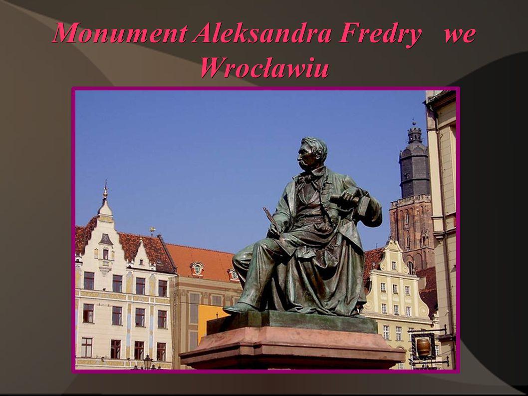 Monument Aleksandra Fredry we Wrocławiu