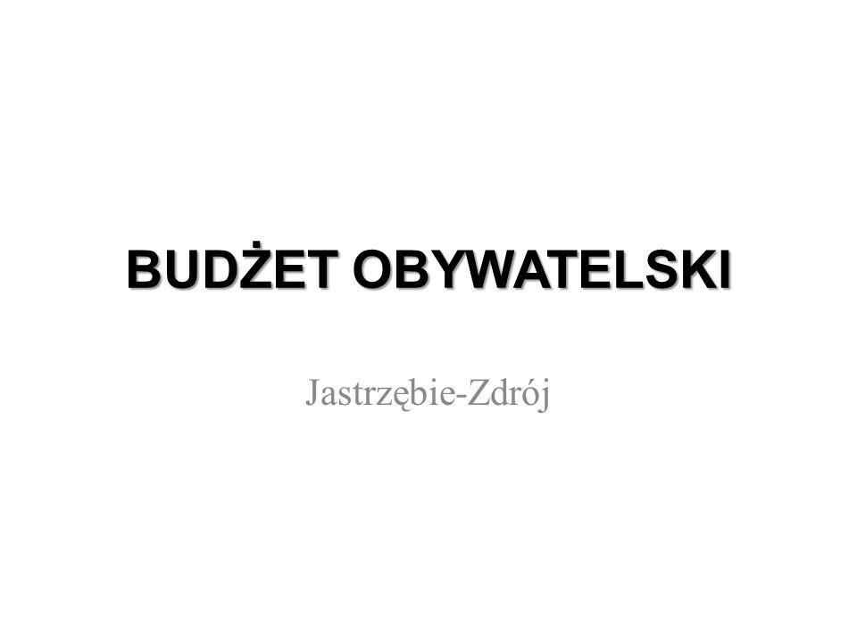 BUDŻET OBYWATELSKI Jastrzębie-Zdrój