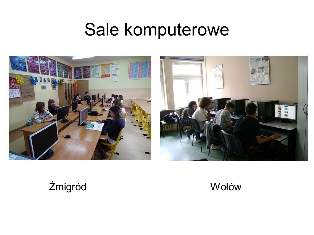 Sale komputerowe ŻmigródWołów