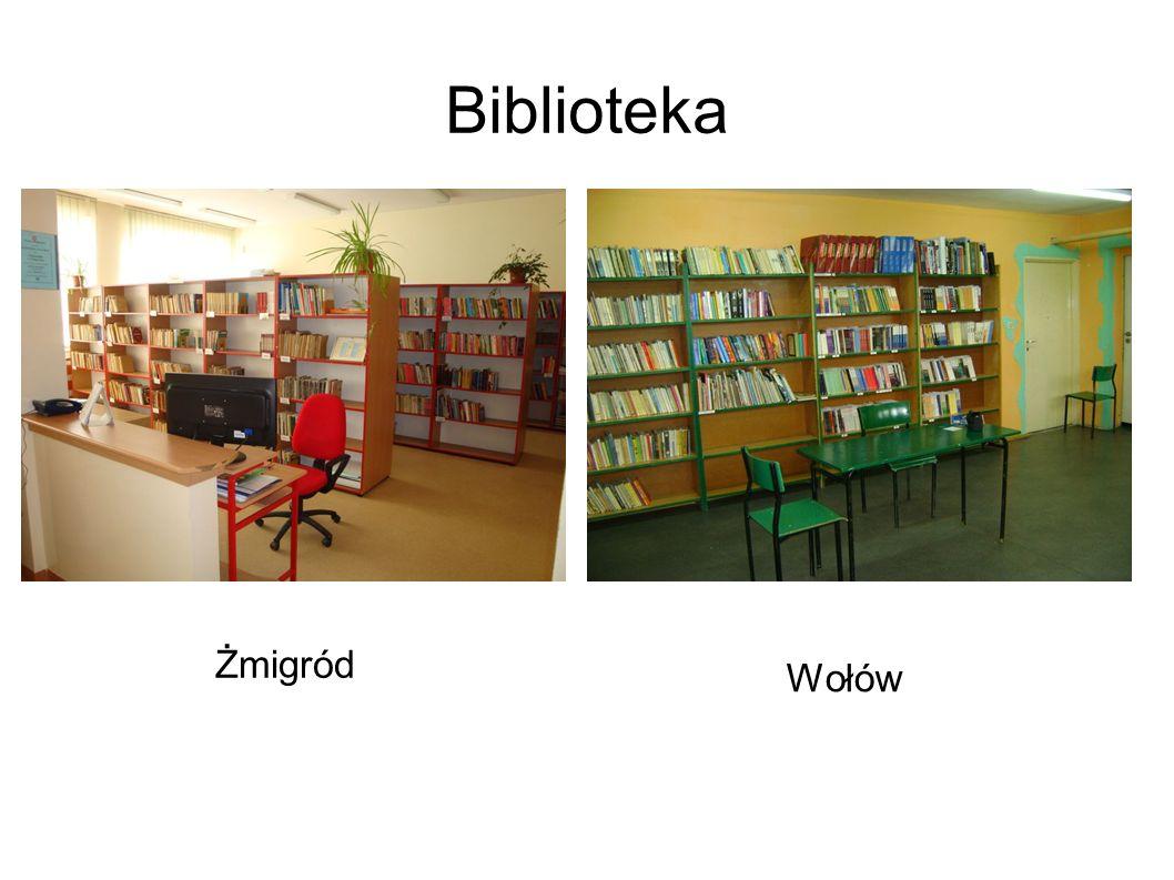 Biblioteka Żmigród Wołów