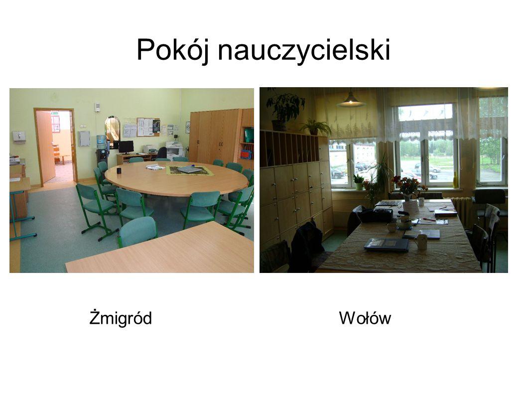 Pokój nauczycielski ŻmigródWołów