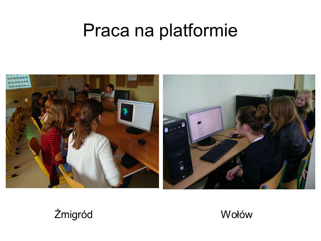Praca na platformie ŻmigródWołów