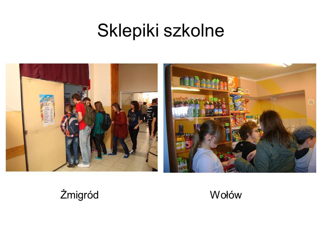 Sklepiki szkolne ŻmigródWołów