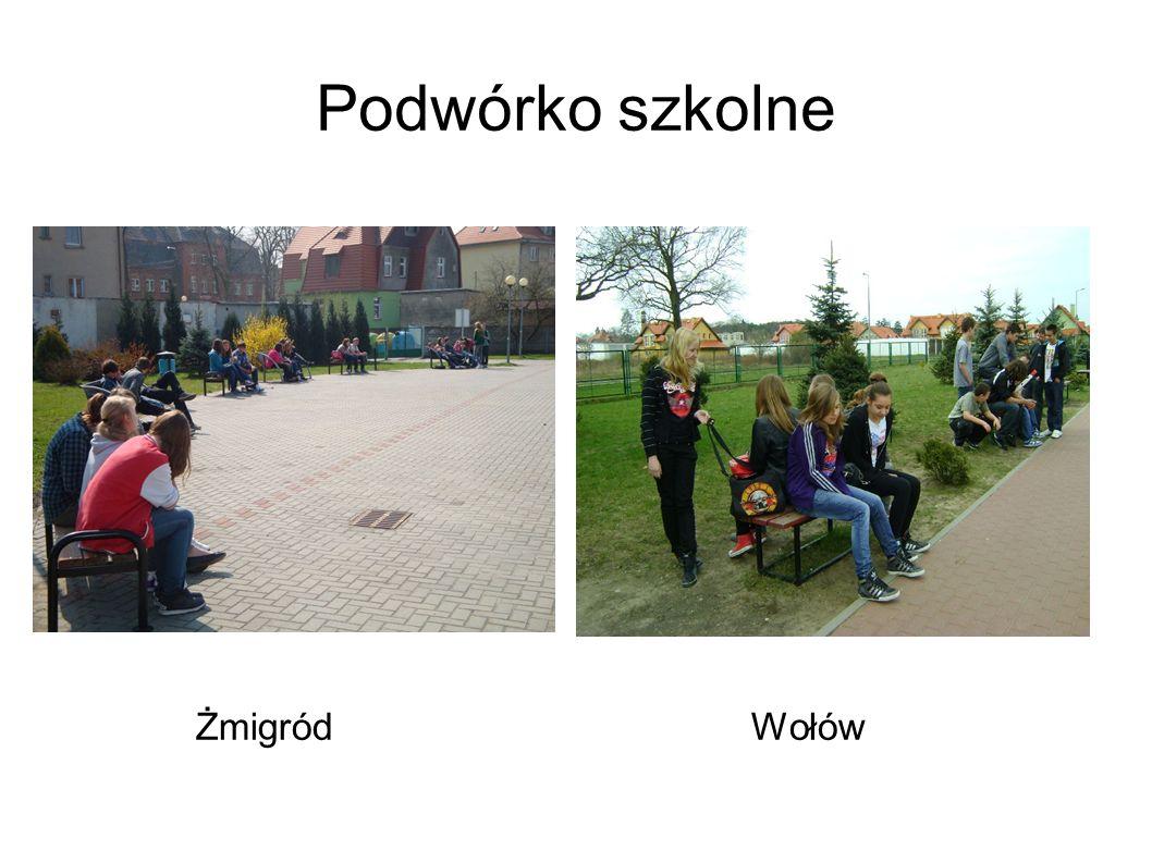 Podwórko szkolne ŻmigródWołów