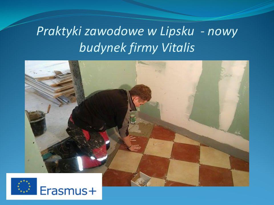 Praktyki zawodowe w Lipsku - nowy budynek firmy Vitalis