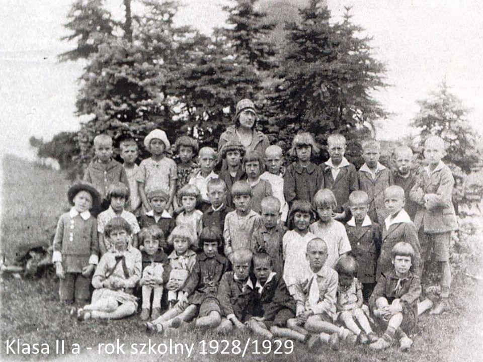 Klasa II a - rok szkolny 1928/1929