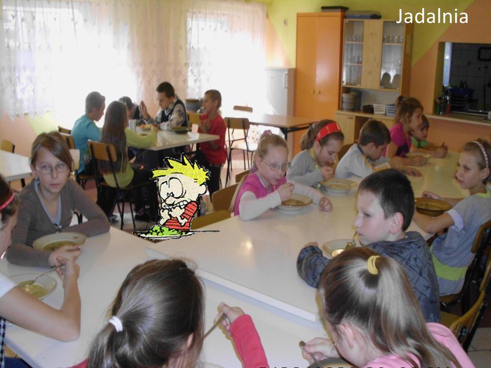Tu będzie zdjęcie jadalni z uczniami Jadalnia