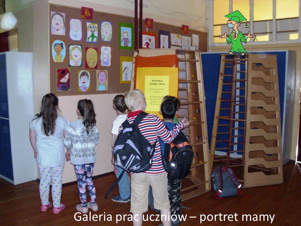 Galeria prac uczniów – portret mamy