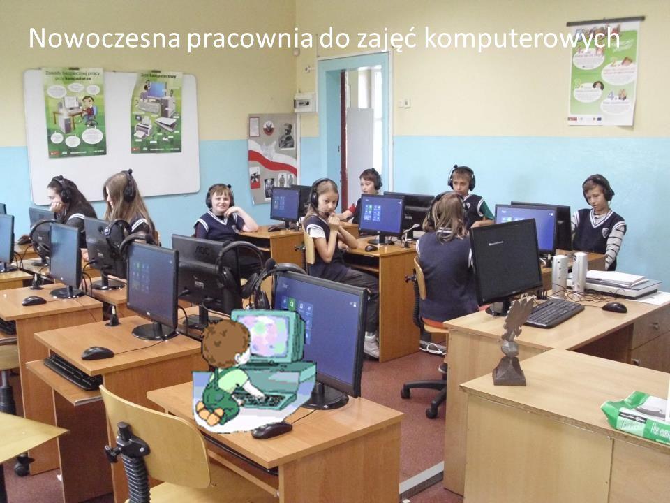 Nowoczesna pracownia do zajęć komputerowych