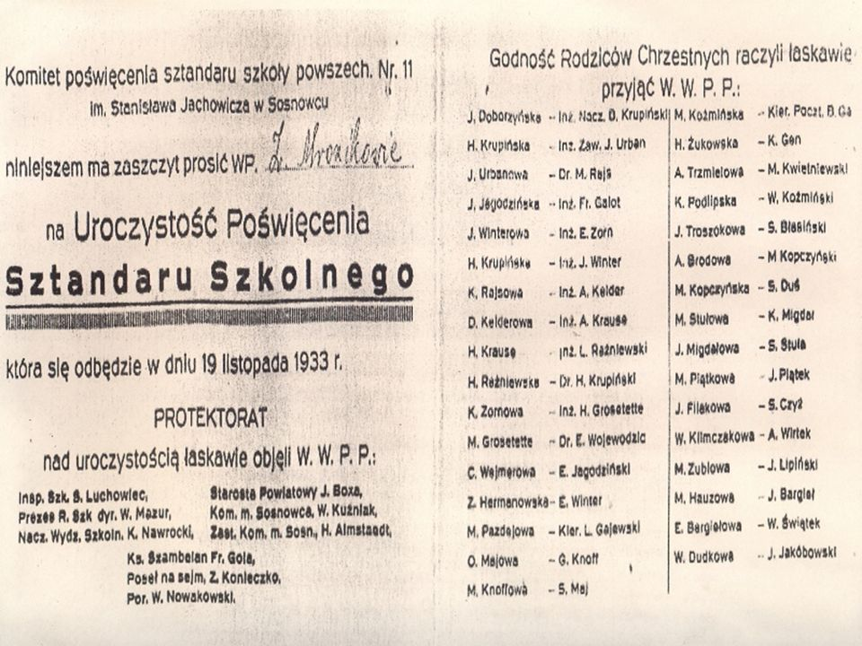 Klasa II - rok szkolny 1984/1985