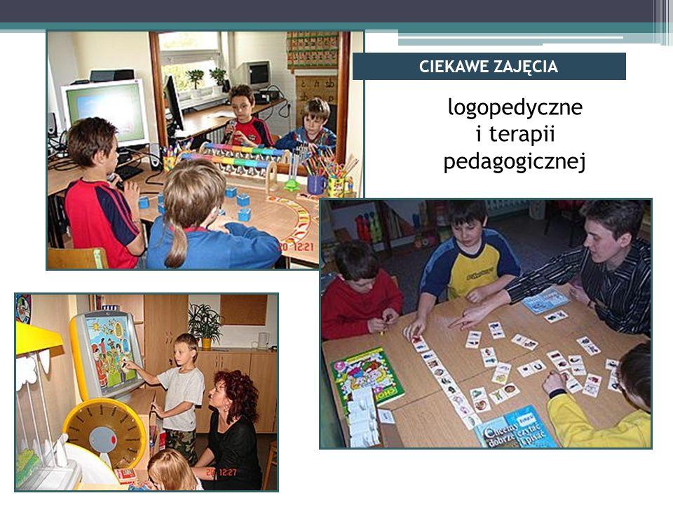 logopedyczne i terapii pedagogicznej CIEKAWE ZAJĘCIA