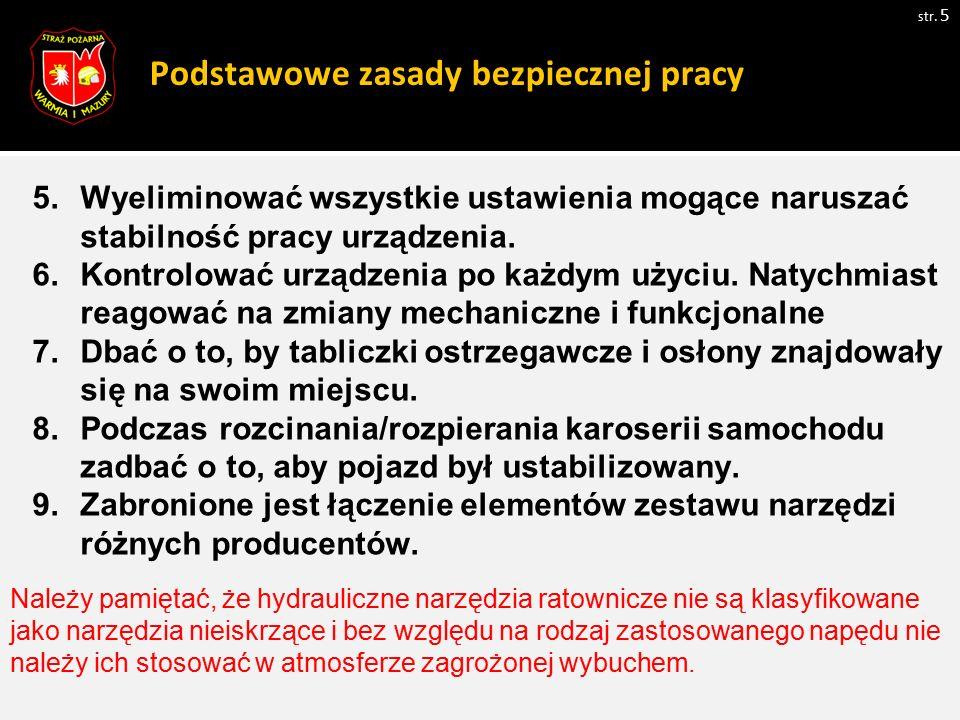 Zasady pracy reduktorem ciśnienia.str.