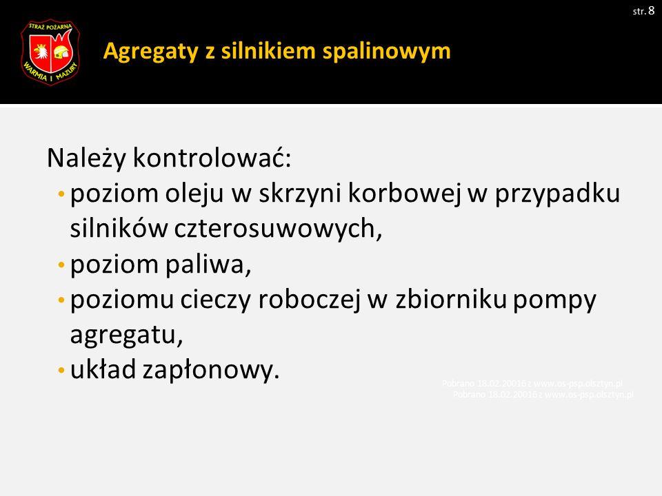 Zasady pracy siłownikami niskociśnieniowymi.str.