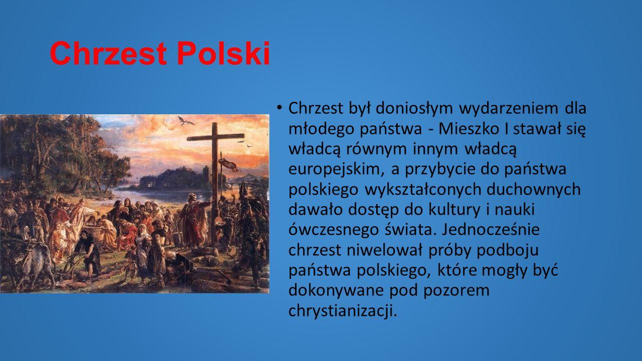 Ślub Mieszka I z Czeską Księżniczką Dobrawą Przymierze polsko-czeskie zostało przypieczętowane w roku 965 małżeństwem Mieszka I z księżniczką Dobrawą
