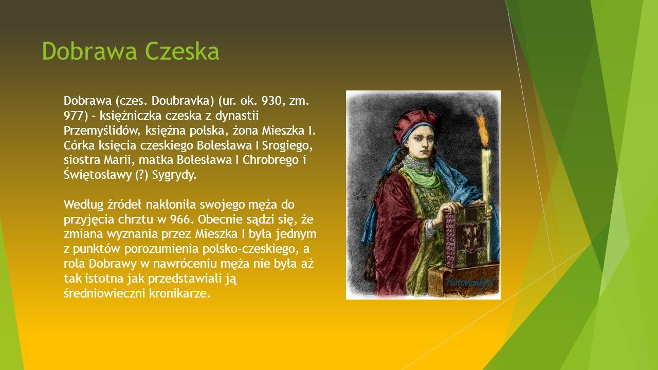 Dobrawa Czeska Dobrawa (czes. Doubravka) (ur. ok.