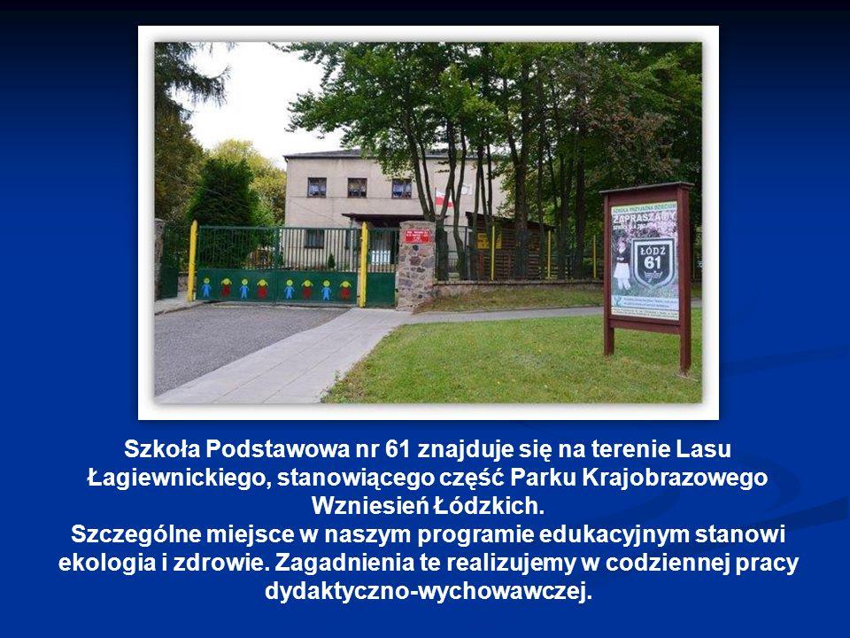 Zalety szkoły szkoła z tradycjami, wielopokoleniowa, szkoła z tradycjami, wielopokoleniowa, bezpieczna, ogrodzona, monitorowana, bezpieczna, ogrodzona, monitorowana, mała, kameralna, uczniowie nie są w niej anonimowi, mała, kameralna, uczniowie nie są w niej anonimowi, pięknie położona, na skraju Lasu Łagiewnickiego, część zajęć (wf, przyroda) odbywa się w lesie, pięknie położona, na skraju Lasu Łagiewnickiego, część zajęć (wf, przyroda) odbywa się w lesie, posiada duży, zielony teren sportowo - rekreacyjny, miejsce na ognisko, posiada duży, zielony teren sportowo - rekreacyjny, miejsce na ognisko, świetlica czynna od 7.00 do 17.00, świetlica czynna od 7.00 do 17.00, tanie, domowe obiady, tanie, domowe obiady, nowy, bezpieczny plac zabaw i mini – ogród botaniczny, nowy, bezpieczny plac zabaw i mini – ogród botaniczny, kolorowe, przestronne klasy, pracownia multimedialna z tablicą interaktywną, pracownia internetowa i centrum multimedialne przy bibliotece, kolorowe, przestronne klasy, pracownia multimedialna z tablicą interaktywną, pracownia internetowa i centrum multimedialne przy bibliotece, dostęp do wody źródlanej, która płynie w źródełku obok klasztoru.