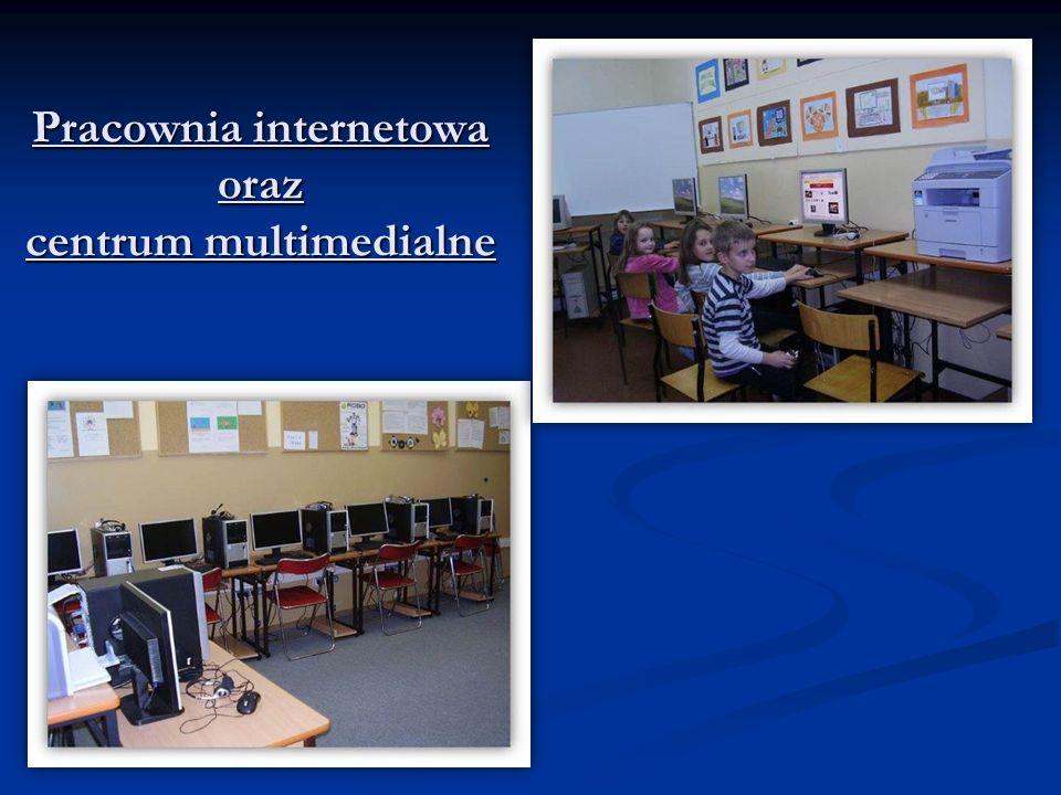 Pracownia internetowa oraz centrum multimedialne Pracownia internetowa oraz centrum multimedialne