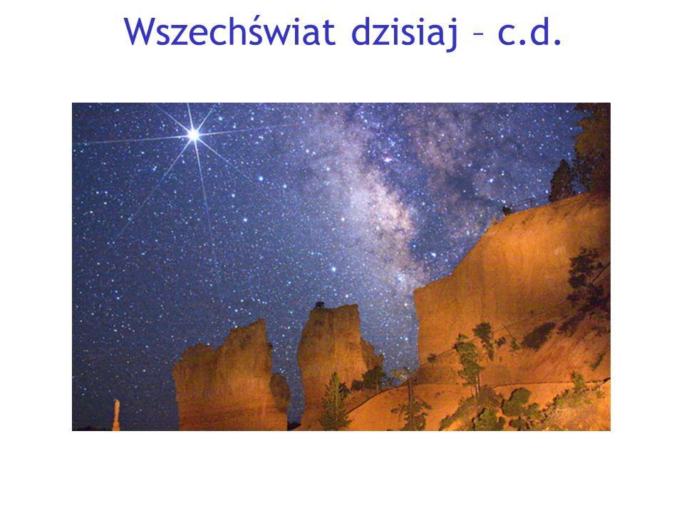 Wszechświat dzisiaj – c.d.