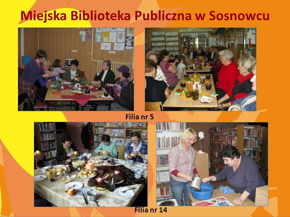 Miejska Biblioteka Publiczna w Sosnowcu Filia nr 5 Filia nr 14