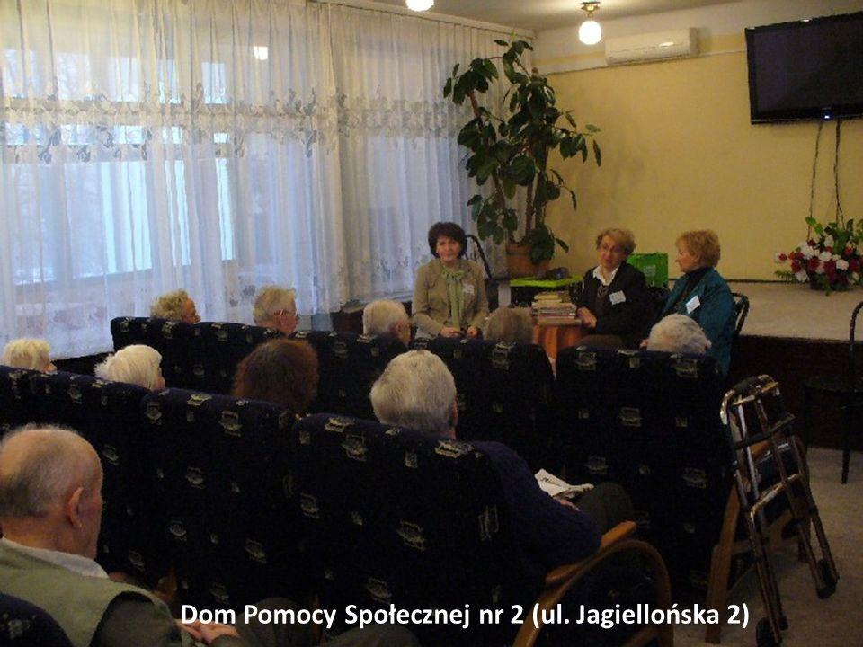Miejska Biblioteka Publiczna w Sosnowcu Dom Pomocy Społecznej nr 1 Dom Pomocy Społecznej nr 2