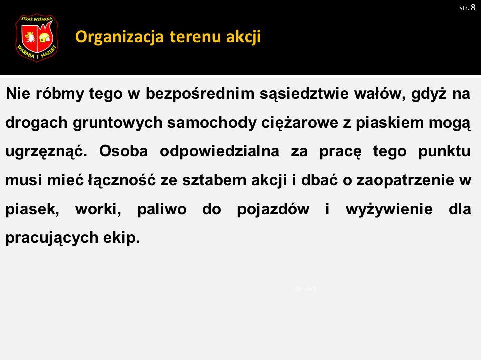 Ogólne zasady ewakuacji osób sprzętem pływającym: str.
