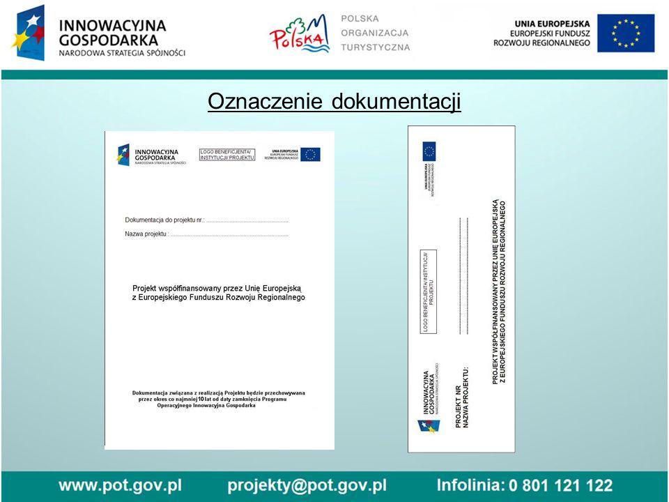 Oznaczenie dokumentacji