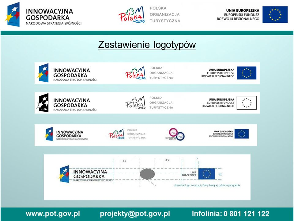 Zestawienie logotypów