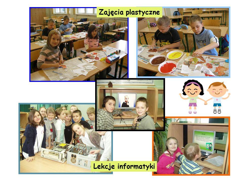 Zajęcia plastyczne Lekcje informatyki