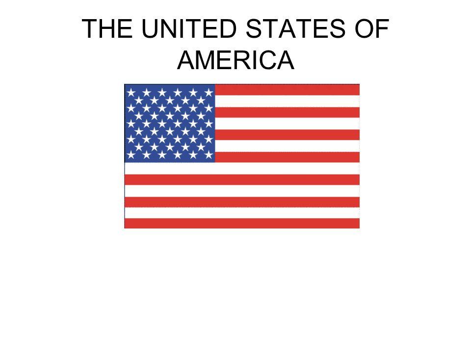 Flag of America Flaga składa się z trzynastu równej wysokości poziomych pasów, na przemian czerwonych i białych (czerwony na początku i końcu).