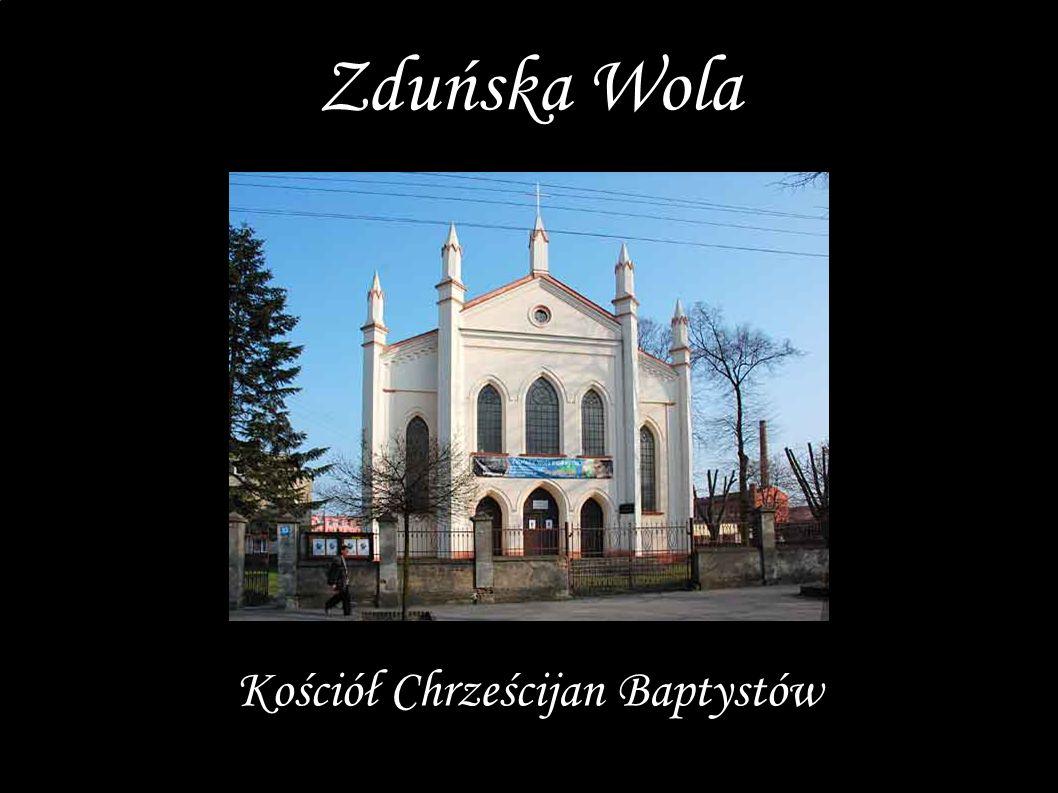 Kościół Chrześcijan Baptystów Zduńska Wola