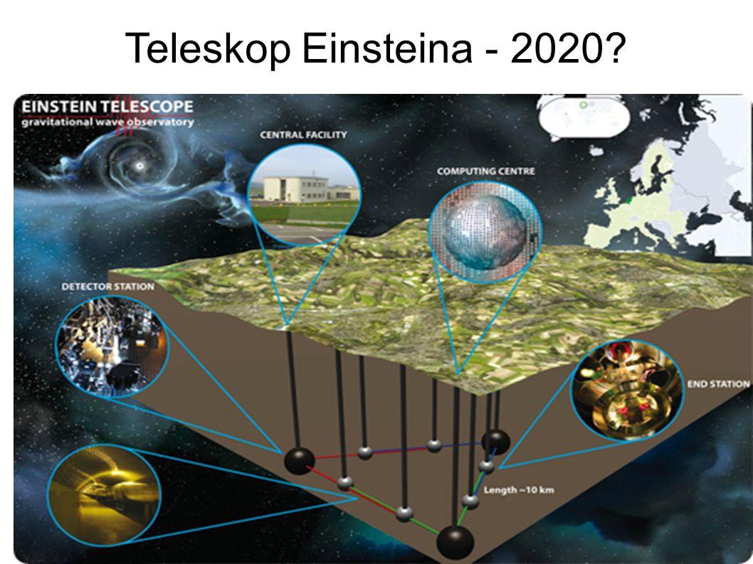 Teleskop Einsteina - 2020?
