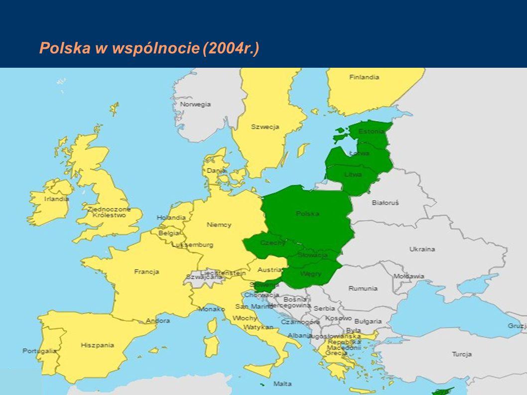 Po 2004r. Przystąpiły tylko 3 państwa (Chorwacja,Rumunia,Bułgaria)