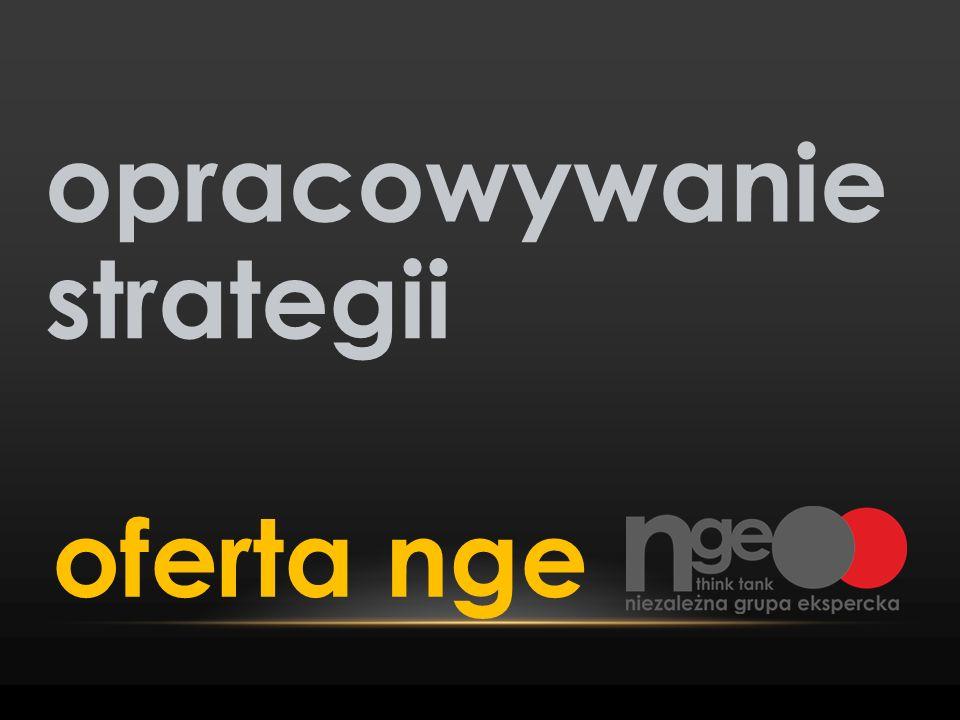 opracowywanie strategii oferta nge