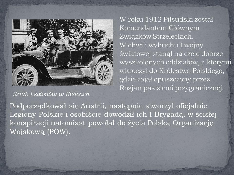Sztab Legionów w Kielcach.