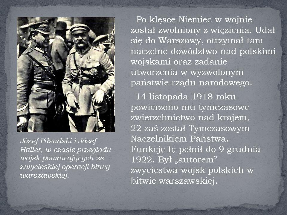 Po klęsce Niemiec w wojnie został zwolniony z więzienia.