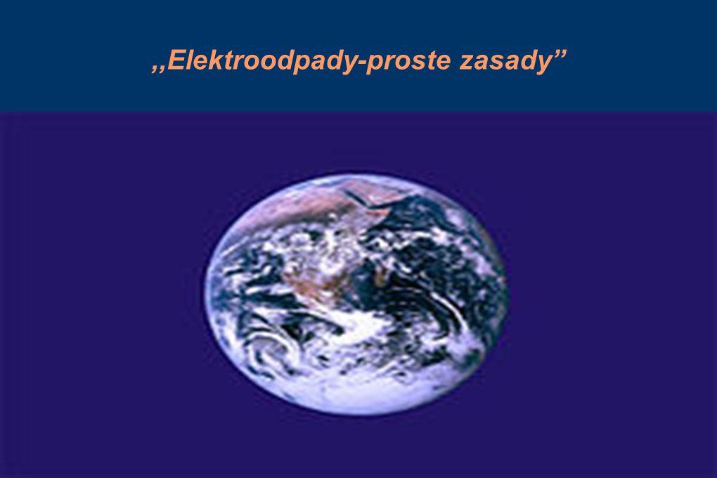 ,,Elektroodpady-proste zasady