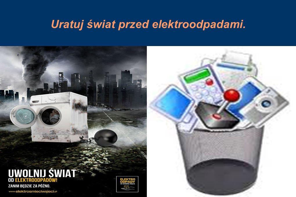 Uratuj świat przed elektroodpadami.