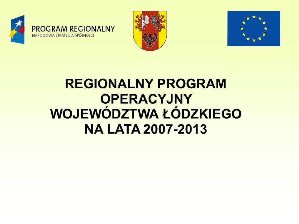 ZPORR 42 projekty - całkowita wartość wyniosła około 40 mln PLN kwota dofinansowania z EFRR - około 31 mln PLN - Wyposażenie Szpitalnego Oddziału Ratunkowego W.S.S.