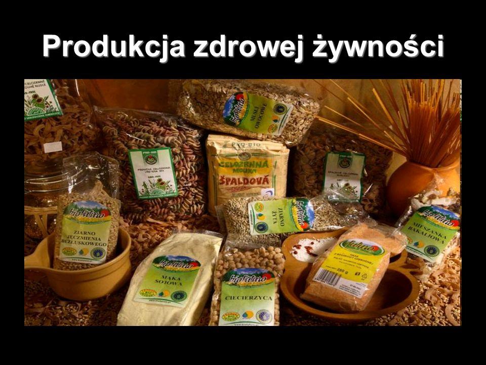 Produkcja zdrowej żywności