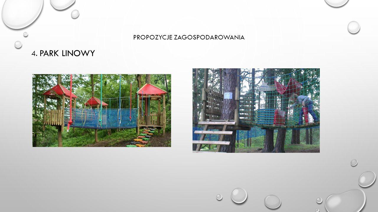 PROPOZYCJE ZAGOSPODAROWANIA 4. PARK LINOWY