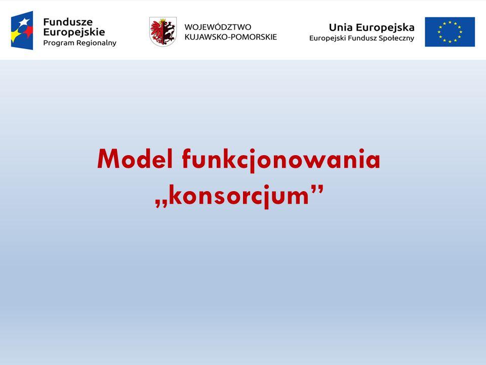 "Model funkcjonowania ""konsorcjum"
