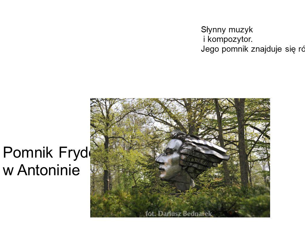 Słynny muzyk i kompozytor. Jego pomnik znajduje się również w Poznaniu.