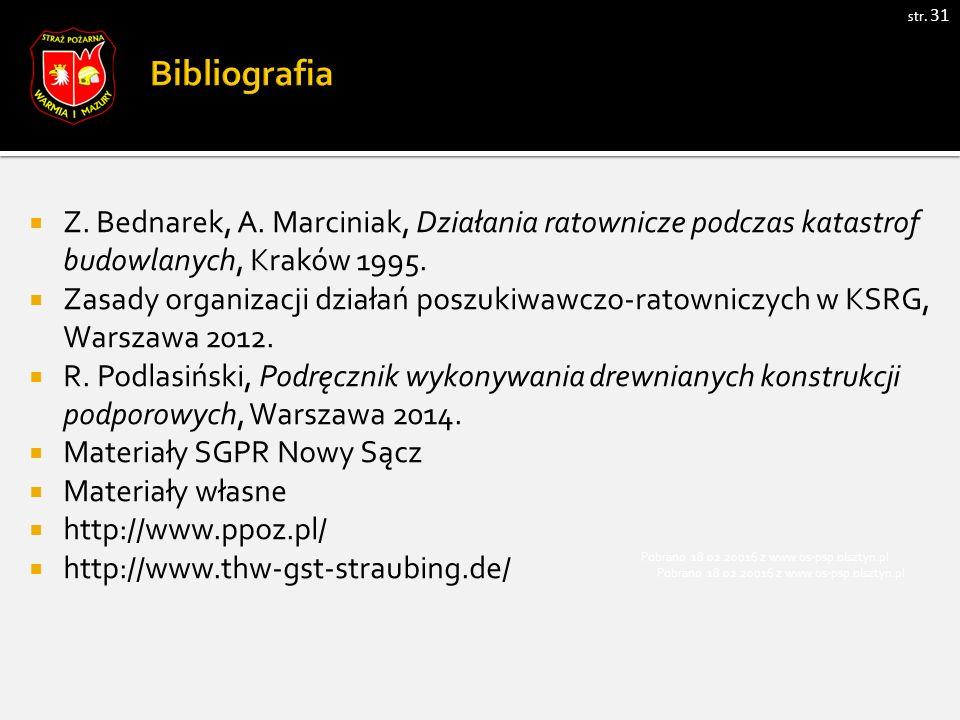 str. 31  Z. Bednarek, A.