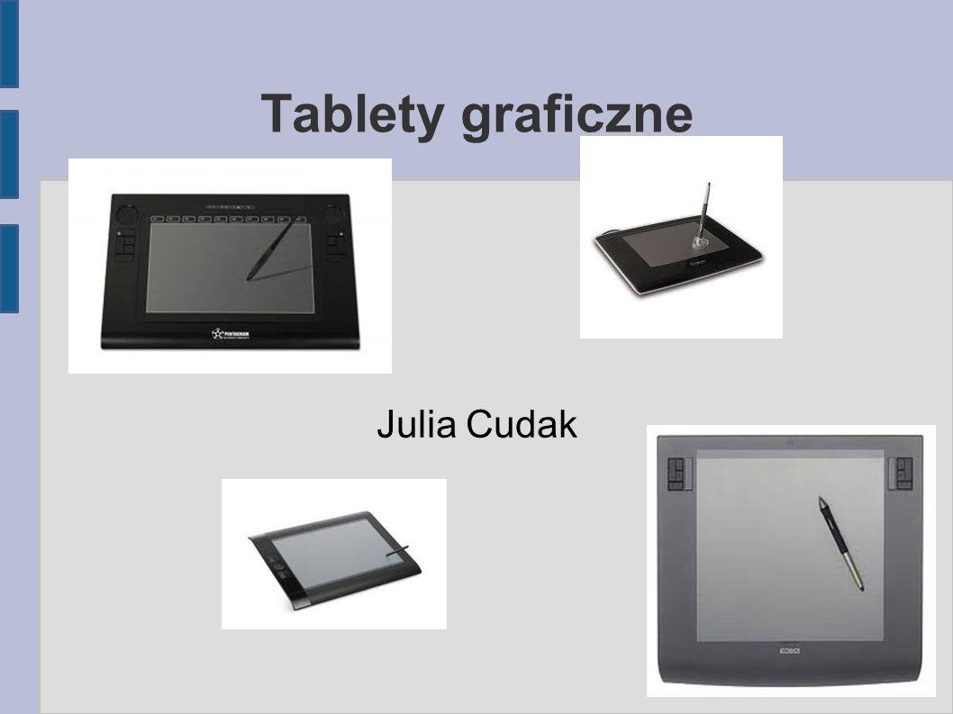 Tablety graficzne Julia Cudak