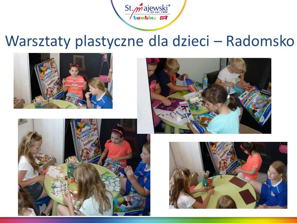 Warsztaty plastyczne dla dzieci – Radomsko