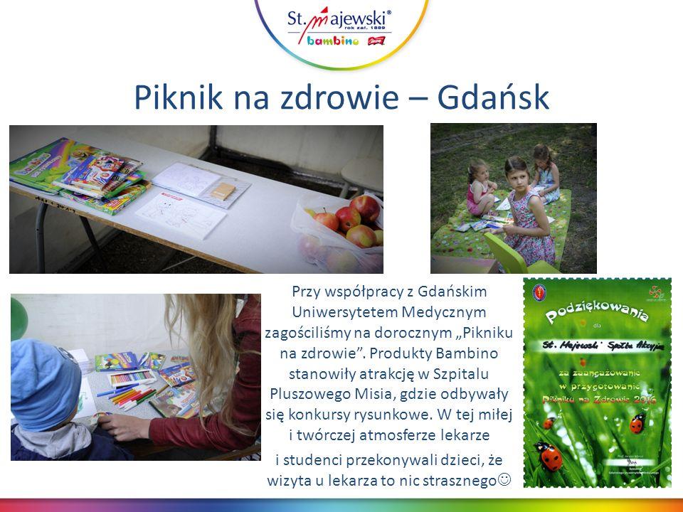 """Piknik na zdrowie – Gdańsk Przy współpracy z Gdańskim Uniwersytetem Medycznym zagościliśmy na dorocznym """"Pikniku na zdrowie ."""