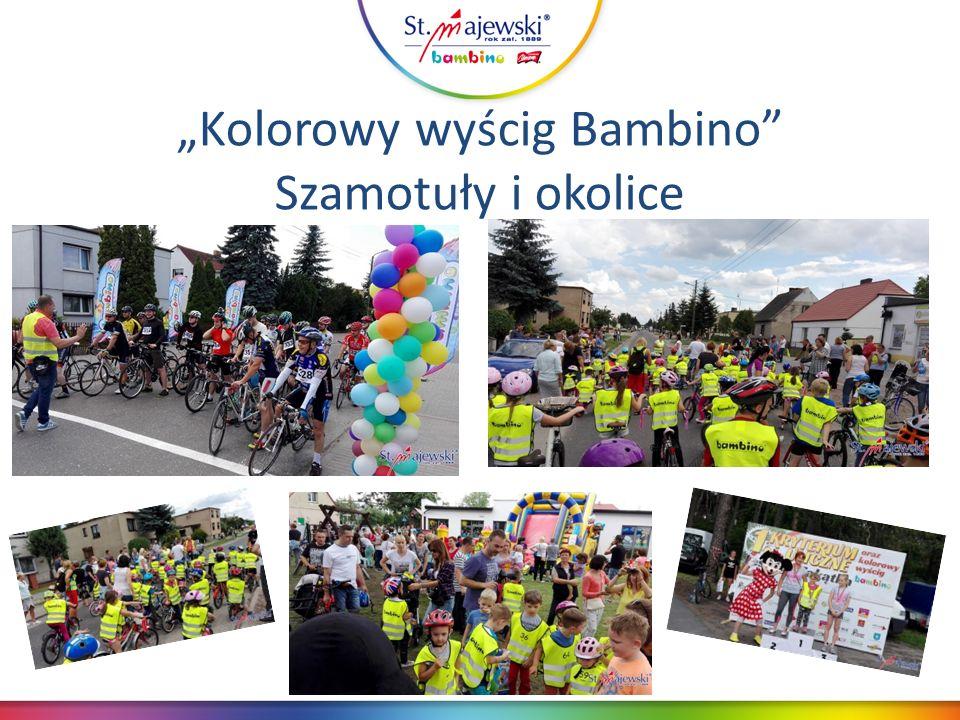 """""""Kolorowy wyścig Bambino Szamotuły i okolice"""