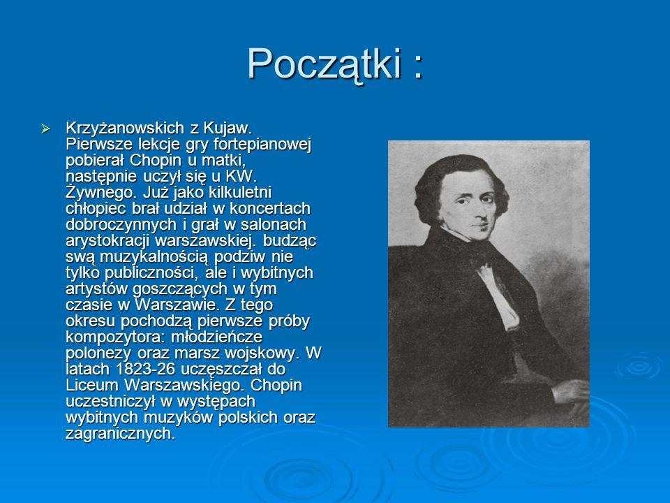 Początki :  Krzyżanowskich z Kujaw.